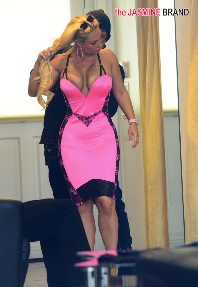 Coco and Ice-T Go Shopping in Hollywood - December 12, 2013