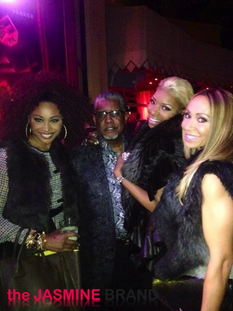 cynthia bailey-greg leakes-nene leakes-mynique smith-new years eve 2014-the jasmine brand