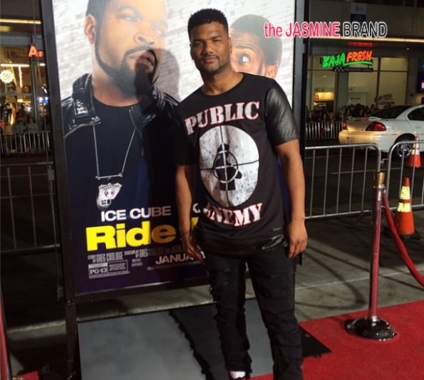 damian wayans-ride along premiere los angeles-the jasmine brand