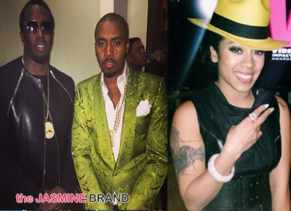 diddy-nas-keyshia cole-impact awards 2013-pre grammys-the jasmine brand