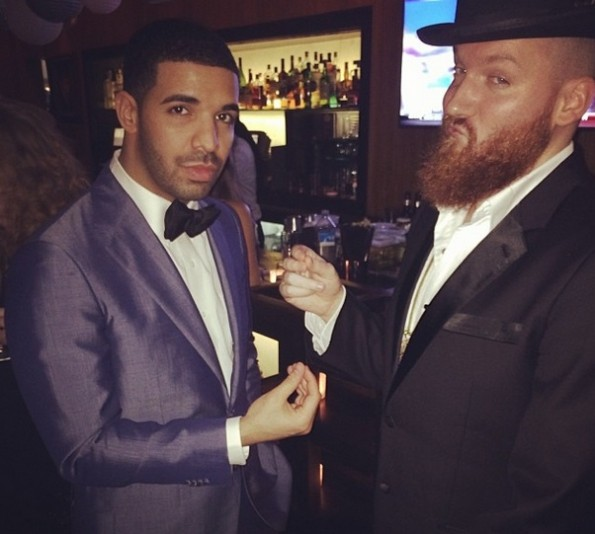 drake-new years eve party 2014-the jasmine brand