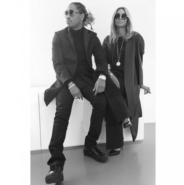 Future, Ciara Paris Fashion Week