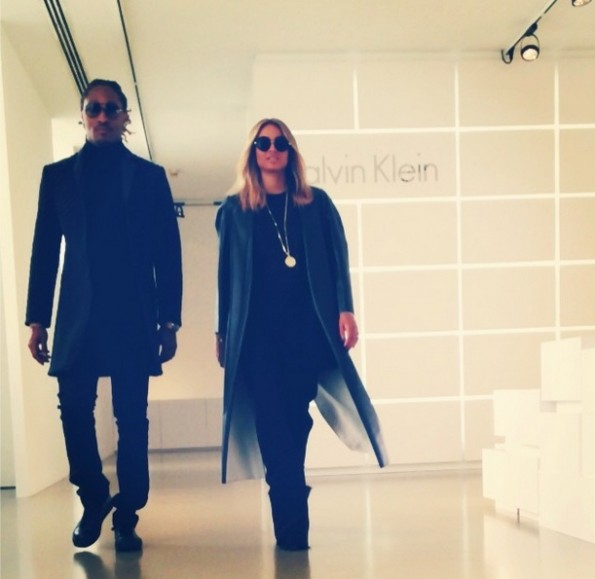 future-ciara-Fall 2014 Calvin Klein Collection runway show 2014-the jasmine brand