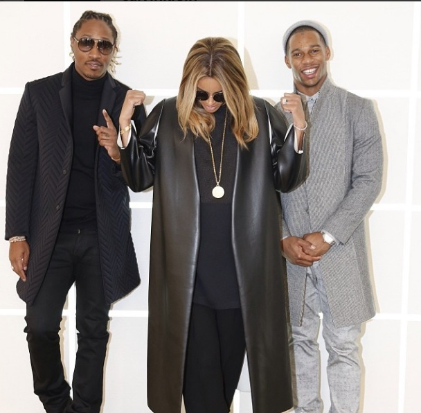 [PHOTOS] Ciara, Future & Victor Cruz Travel to Milan for Exclusive Calvin Klein Show