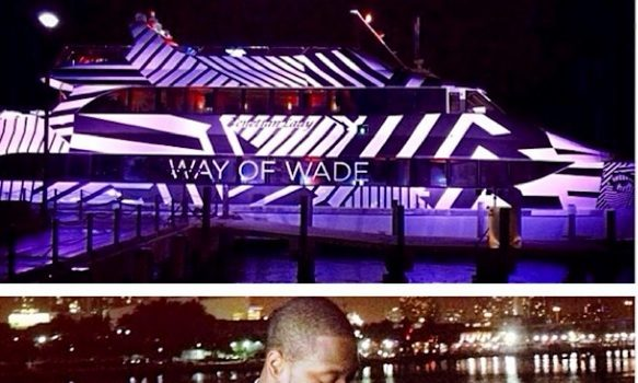 Dwayne Wade Celebrates 32nd Birthday With Fireworks, Private Yacht & Fiance Gabrielle Union