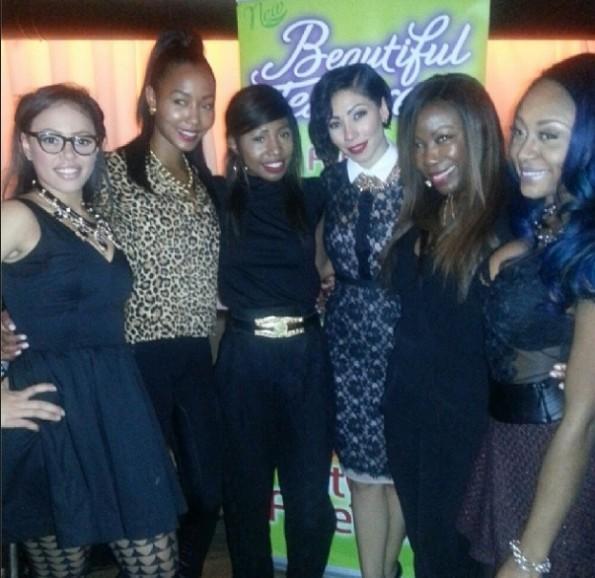 group shot-bridget kelly-elle varner-womens power dinner-beautiful textures-the jasmine brand