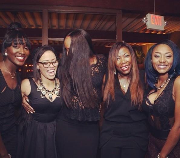 group shot-elle varner-womens power dinner-beautiful textures-the jasmine brand