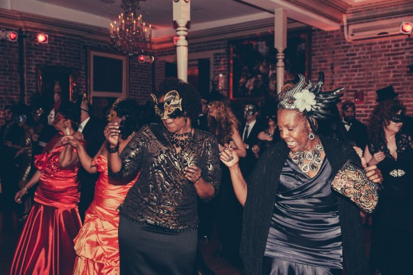 guests dance-tina knowles-60th birthday party new orleans-the jasmine brand