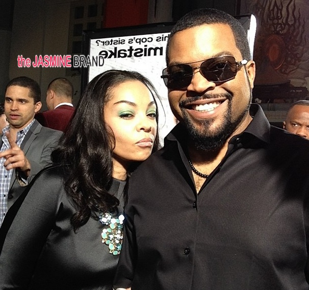 ice cube-wife-ride along premiere los angeles-the jasmine brand