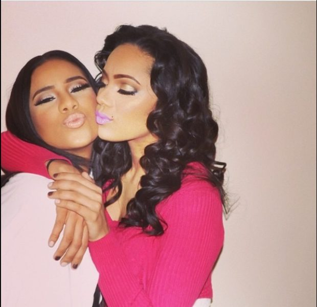 [WATCH] 'We're Not Lesbians!' Love & Hip Hop's Erica Mena & Girlfriend Cyn Santana Talk Sexuality & Relationships