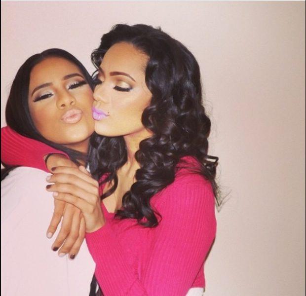 [WATCH] 'We're Not Lesbians!' Love & Hip Hop's Erica Mena & Girlfriend Cyn Santana Talk Sexuality & Relationships