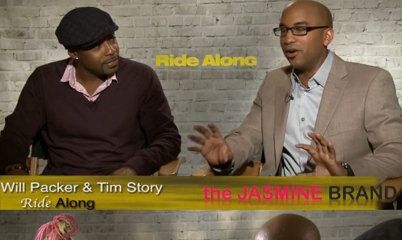 [INTERVIEW] Will Packer & Tim Story Explain Why Kevin Hart & Ice Cube Are Perfect For 'Ride Along'