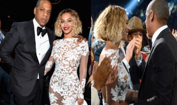 Beyoncé Rocks Michael Costello to Grammy Awards