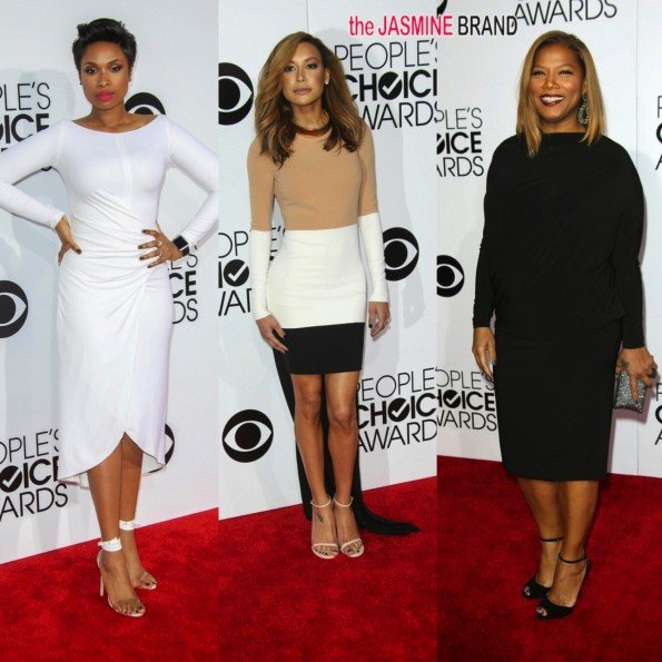 jennifer hudson-naya rivera-queen latifah-peoples choice awards 2014-the jasmine brand