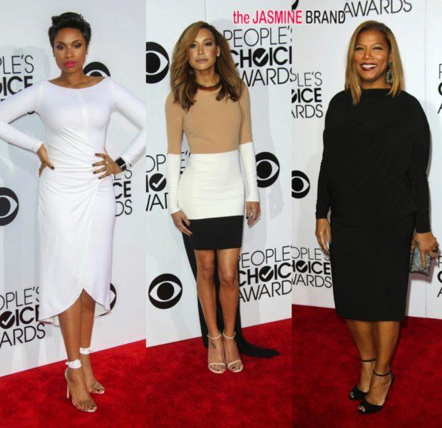[Photos] Jennifer Hudson, Naya Rivera, Queen Latifah & More Shine At Peoples Choice Awards