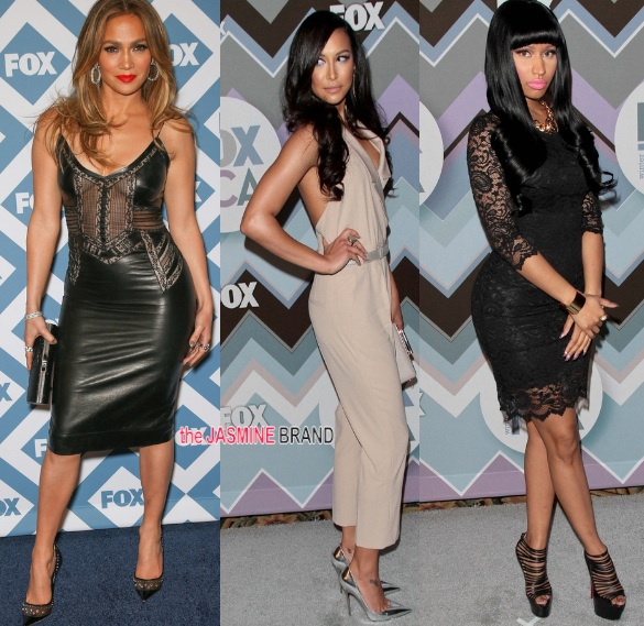J.Lo, Naya Rivera & Nicki Minaj: Fox's TCA All-Star Party!