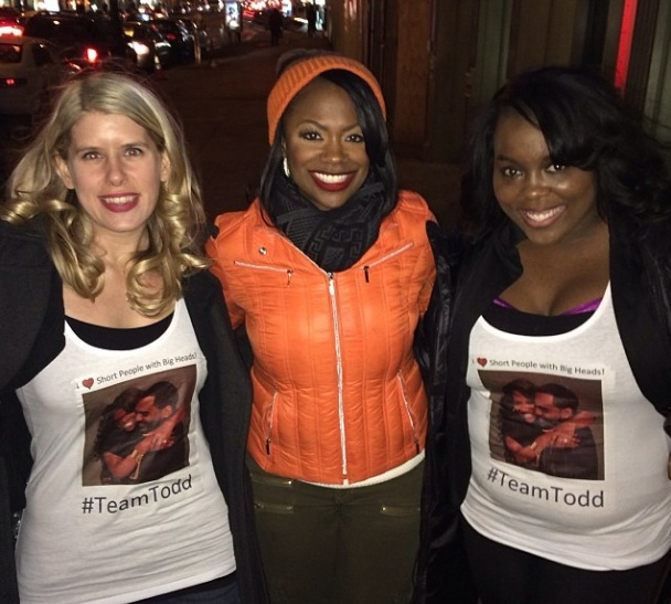 Kandi Burruss Admits Being Too Harsh On Fiance Todd's Career Choice + Tamar Braxton Pops Up At Kandi's New Musical