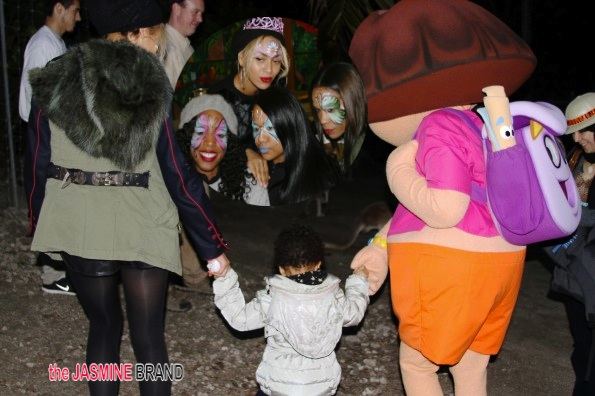 Dora the Explorer, Face Painting & Kangaroos Invited to Blue Ivy's Birthday Party + Jay Z & Blue Dance On New Year's Eve