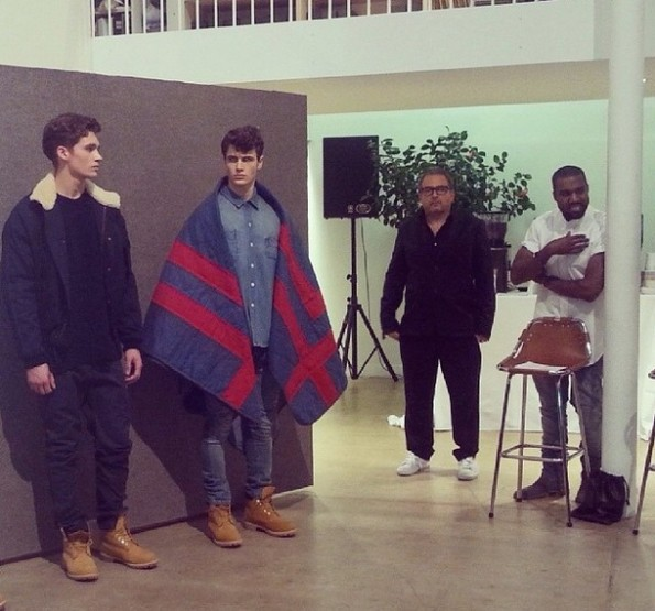 kanye west-a-presents at paris fashion week 2014-the jasmine brand