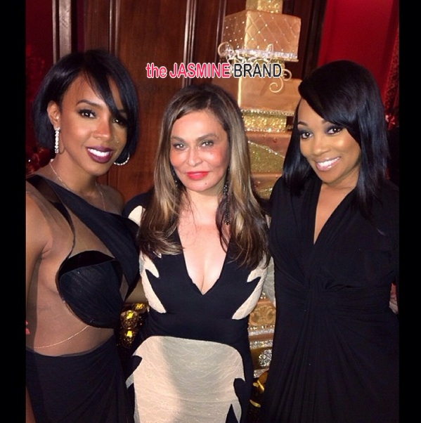 kelly rowland-monica-tina knowles-60th birthday party-masquerade ball-the jasmine brand