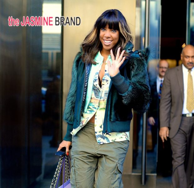 Fresh Ink! Kelly Rowland Unveils New Wedding Ring Tattoo