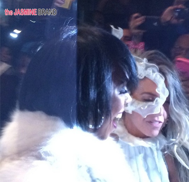 kelly rowland-tina knowles-60th birthday party-masquerade ball-the jasmine brand