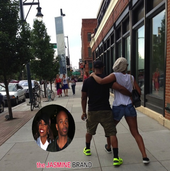 Kelly Rowland Publicly Screams Her Love For Fiancé, Tim Witherspoon (Sorta)