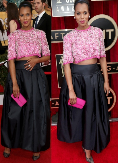 kerry washington-custom prada SAG awards 2014-the jasmine brand