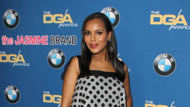 More Maternity Fashion! Kerry Washington Rocks Oscar de La Renta At Directors Guild of America Awards