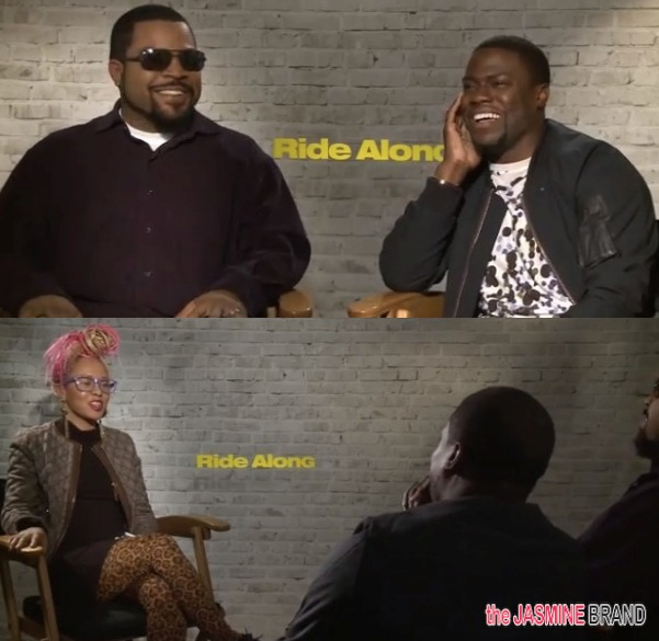 [INTERVIEW] Kevin Hart & Ice Cube Talk 'Ride Along', Chocolate Droppa & Questions For God