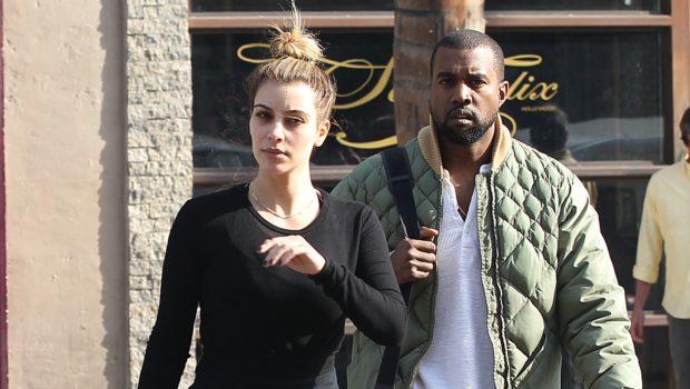 No Beat Face Needed: Kim Kardashian Makes Shopping Run With A Scruffy Kanye West