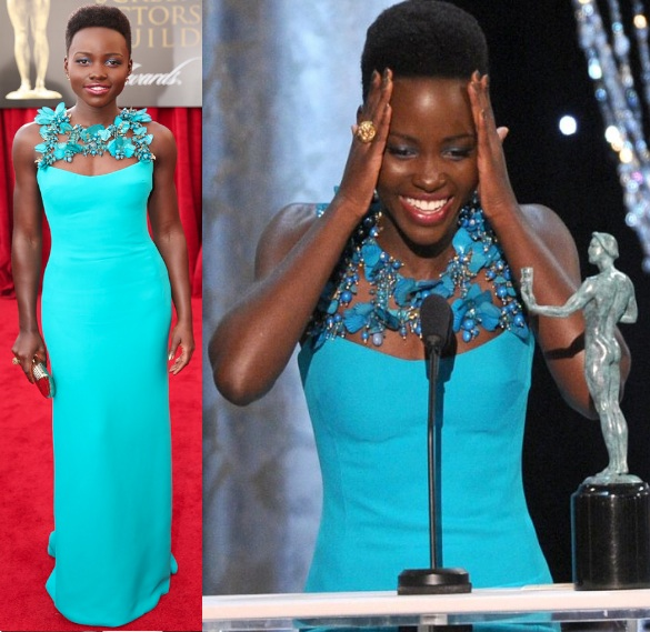 lupita nyongo-SAG Awards 2014-the jasmine brand