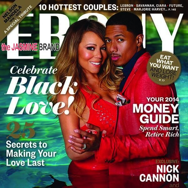 EBONY Unveils Three-Some Couple's Issue: Mariah Carey & Nick Cannon, Lala & Carmelo Anthony +