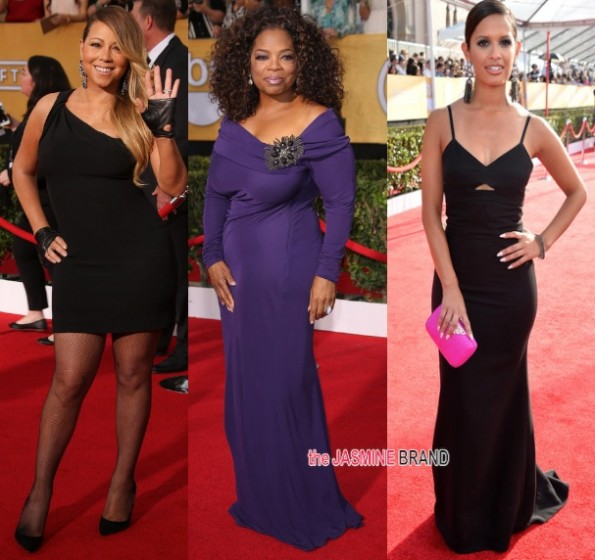 mariah carey-oprah-rocsi diaz-SAG awards 2014-the jasmine brand