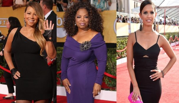 [Photos] 20th Annual Screen Actors Guild Awards: Oprah Winfrey, Mariah Carey, Terrence Howard & More!