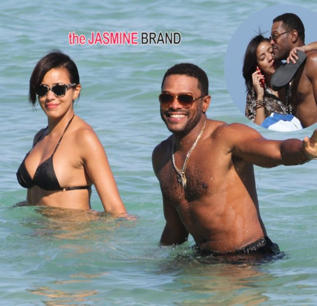 Beach Bodies: Maxwell & Julissa Bermudez Play On Miami Beach