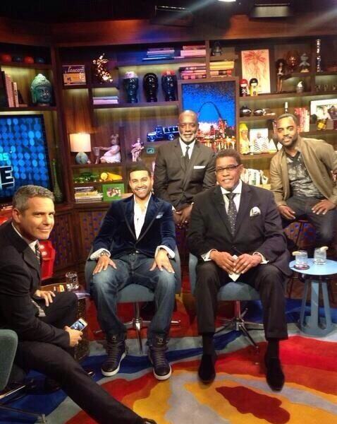 [WATCH] Men of Real Housewives of Atlanta Take Over Watch What Happens Live! + Todd Tucker's Mother Addresses Mama Joyce