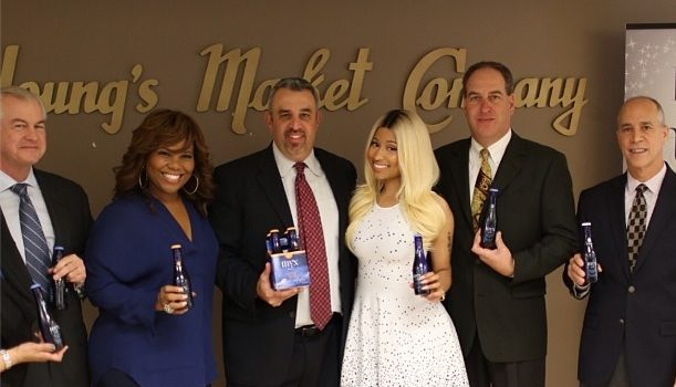 Move Over Diddy, Nicki Minaj's Liquor Hustle Continues
