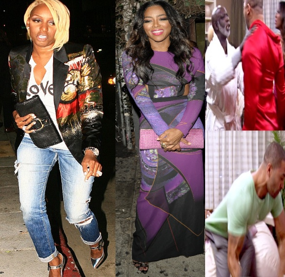 NeNe Leakes Apologizes, Blames Kenya Moore & Bad Editing For RHOA Fight
