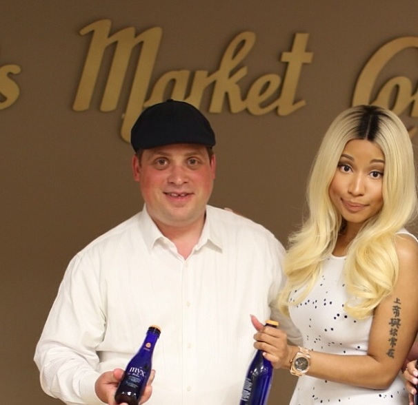 nicki minaj-celebrates myx moscato-the jasmine brand