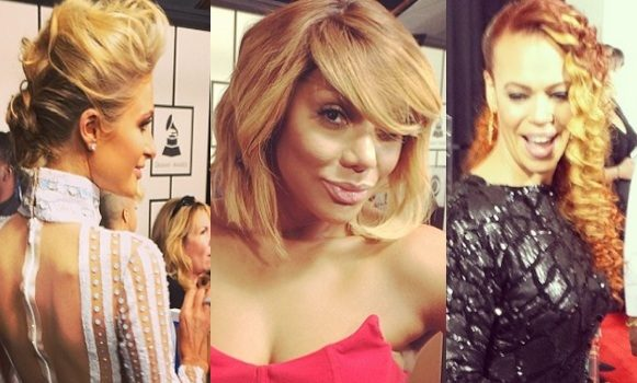 [Photos] 56th GRAMMY Awards, Behind the Scenes: Ciara, Madonna, Tamar Braxton & More