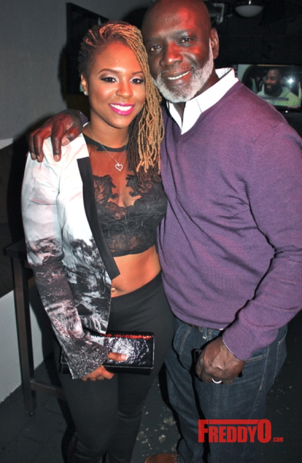 Torrei Hart Amp Peter Thomas Spotted In Atl Lala Anthony