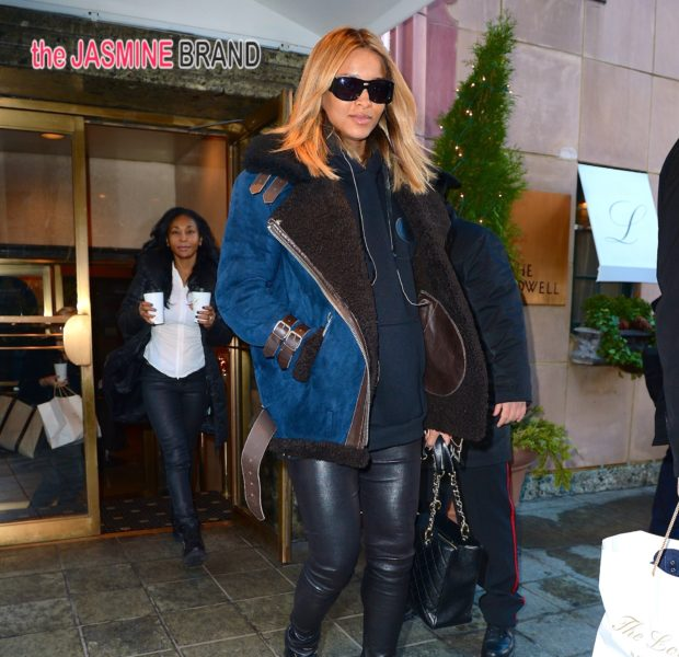 Ciara's Baby Bump Leaves NYC, K.Michelle Plays Housekeeper Half Naked + Tyra Banks Hits Sports Illustrated Party
