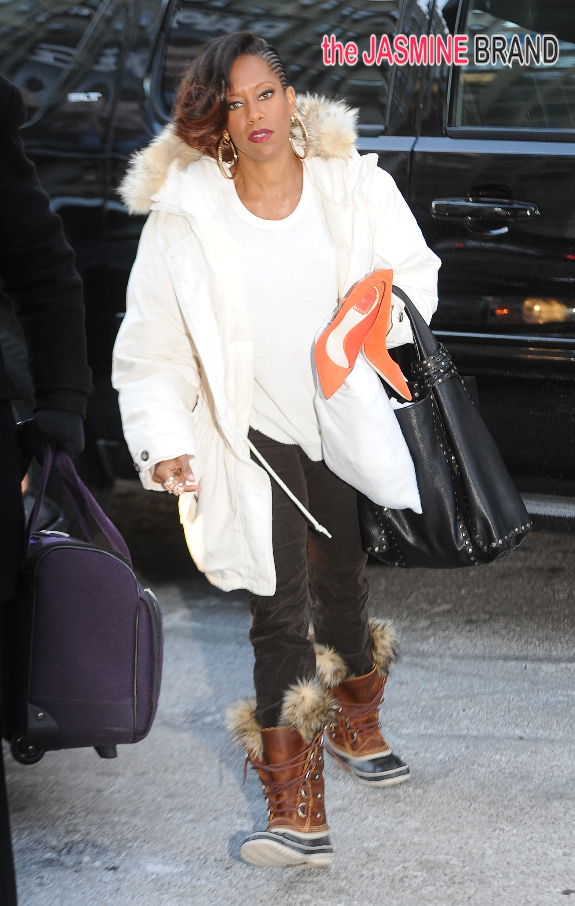 Regina King out and about in NYC