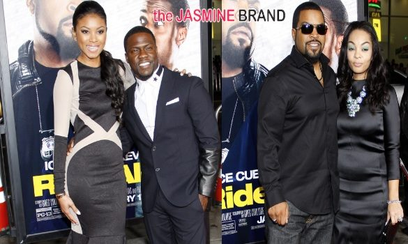 Kevin Hart & Ice Cube's 'Ride Along' LA Premiere Brings Out: Keri Hilson, Martin Lawrence & Nick Cannon