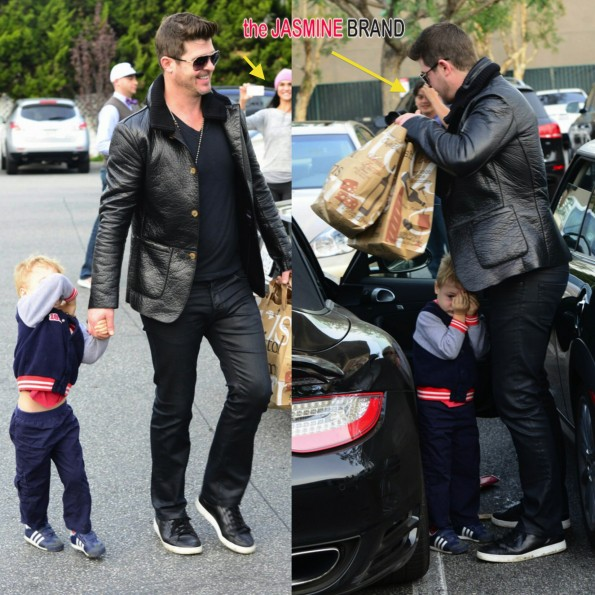 robin thickes son-hides from paparazzi-the jasmine brand