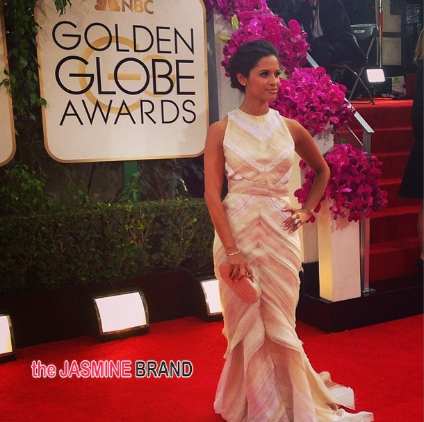rocsi diaz-golden globes red carpet 2014-the jasmine brand