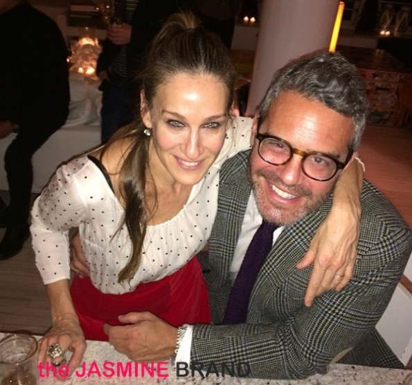 sarah jessica parker-andy cohen-new years eve 2014-the jasmine brand