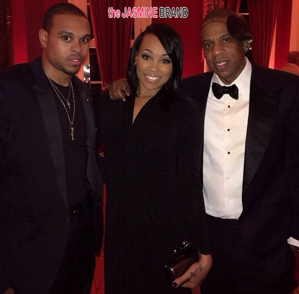 shannon brown-monica-jay z-tina knowles-60th birthday party-masquerade ball-the jasmine brand