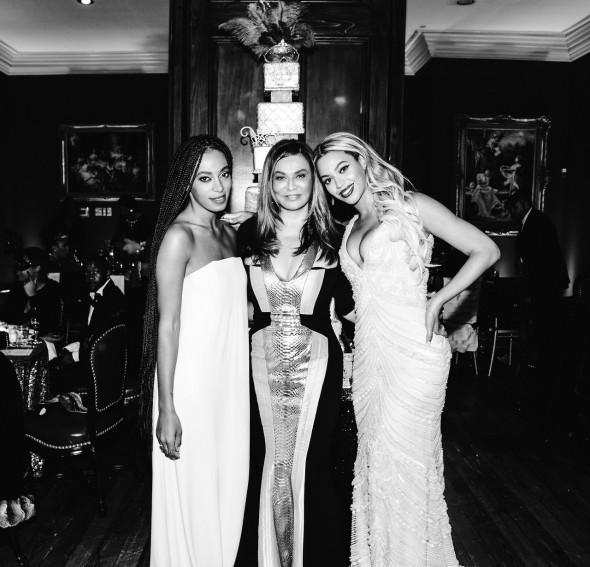 Solange, Tina, Beyonce